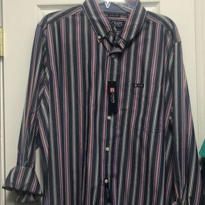 Chaps Men's Easy Care Button Down Shirt